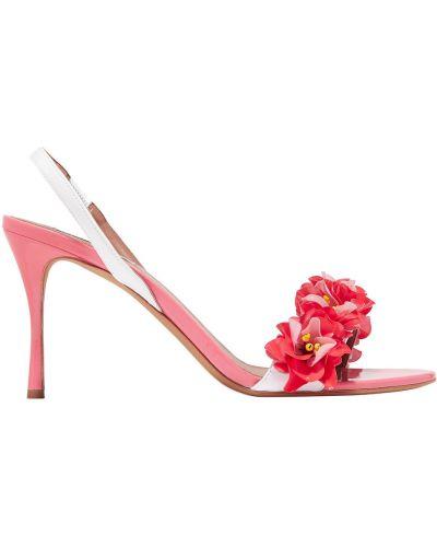 Różowe włoskie sandały Tabitha Simmons