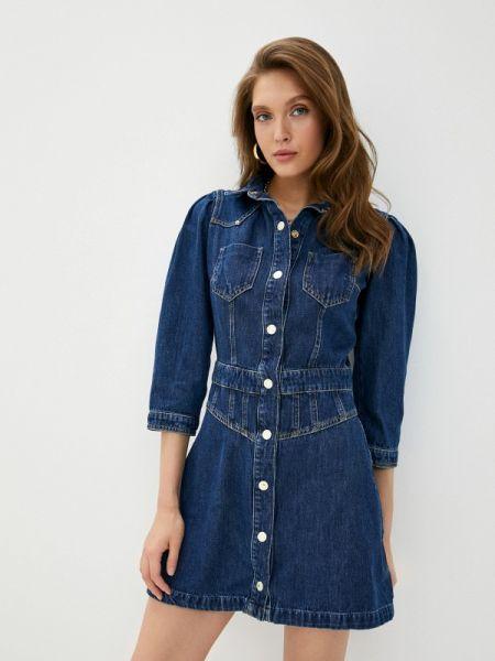 Синее джинсовое платье Guess Jeans