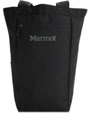 Czarny torba na ramię miejski z nylonu Marmot