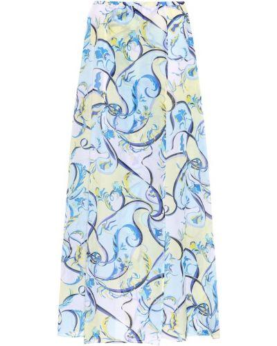Юбка пляжная с цветочным принтом Emilio Pucci Beach