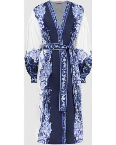 Синее платье миди Twin-set