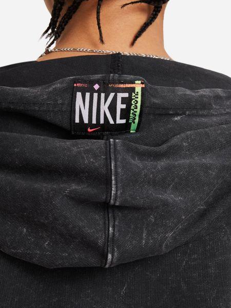 Худи оверсайз - черное Nike
