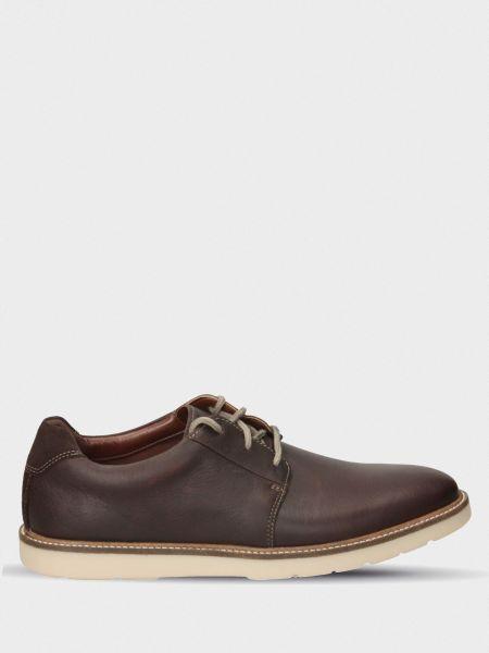 Кожаные полуботинки - коричневые Clarks