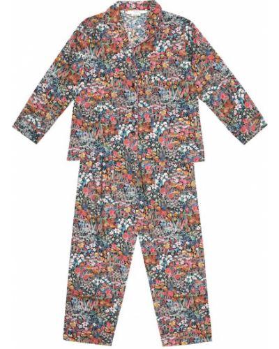 Ватная хлопковая пижамная пижама Bonpoint
