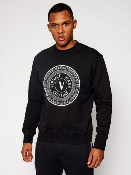 Czarny dres Versace Jeans Couture