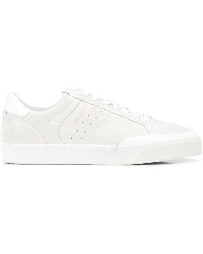Białe sneakersy koronkowe Re/done