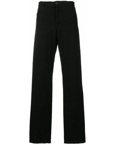 Прямые брюки с карманами черные Individual Sentiments