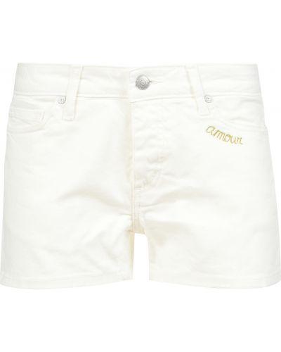 Хлопковые шорты - белые Zadig & Voltaire