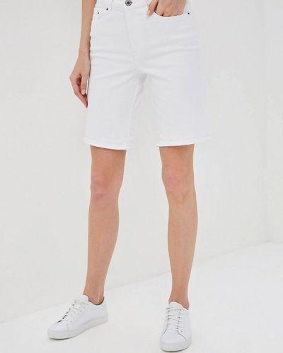 Джинсовые шорты белые Marks & Spencer