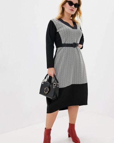 Повседневное платье осеннее итальянский Over