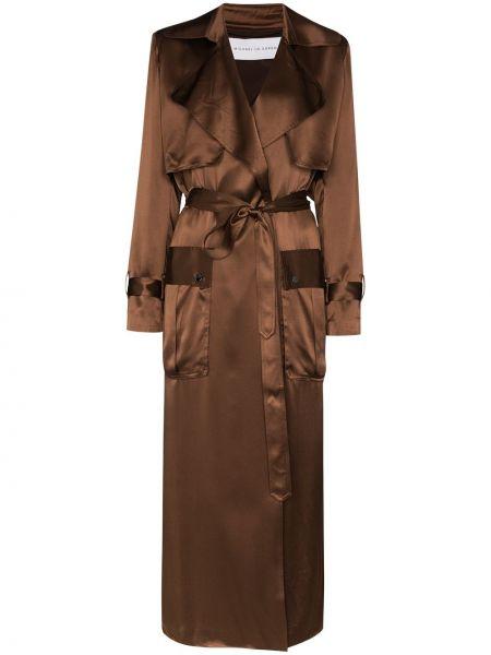 Коричневое пальто Michael Lo Sordo