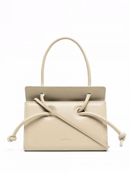 Кожаная сумка - зеленая Yuzefi