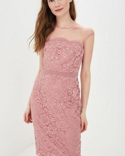 Платье футляр розовое Little Mistress