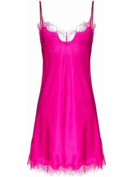 Satynowa koszula nocna - różowa Sainted Sisters