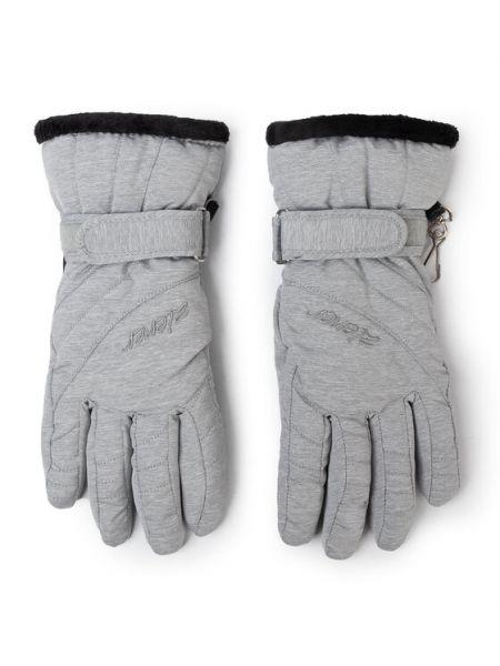Rękawiczki narciarskie - szare Ziener