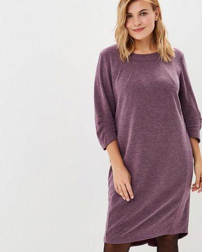 Повседневное платье осеннее фиолетовый Averi