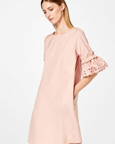 Платье весеннее розовое Pedro Del Hierro