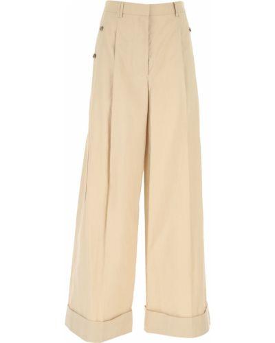 Beżowe spodnie bawełniane 1. Phillip Lim