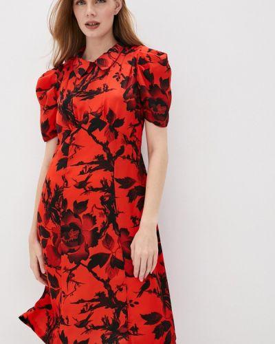 Платье - красное Mcq Alexander Mcqueen