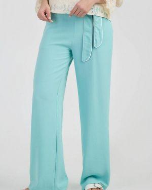 Бирюзовые брюки Das