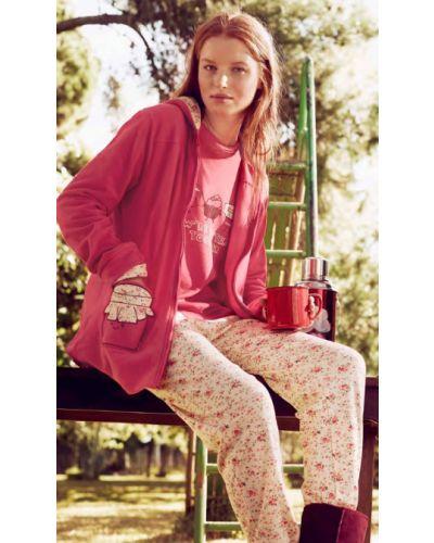 Теплая пижама - розовая Gisela