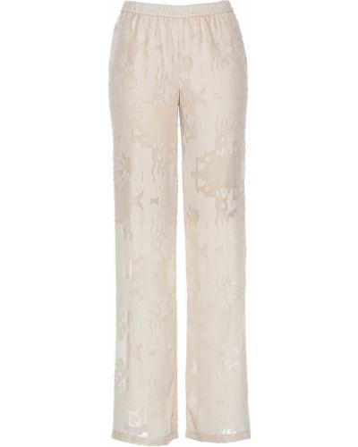 Свободные брюки с поясом с подкладкой Bonprix