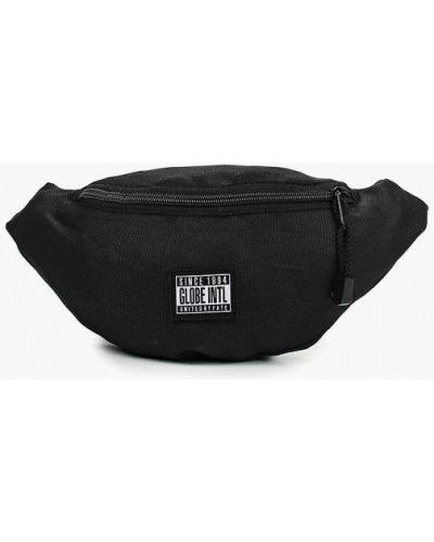Черная поясная сумка Globe