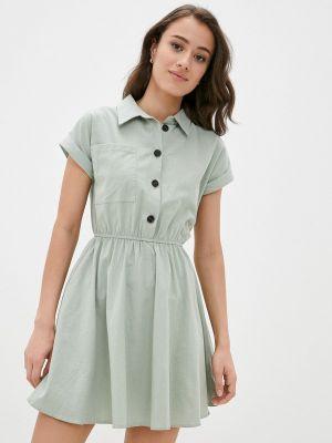 Зеленое платье Miss Gabby