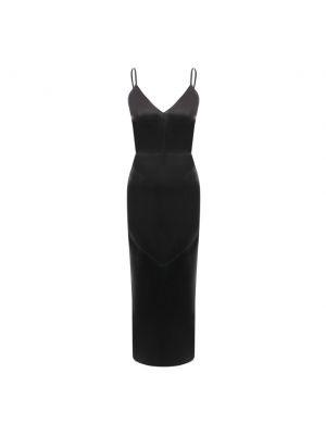 Черное платье с подкладкой Manokhi