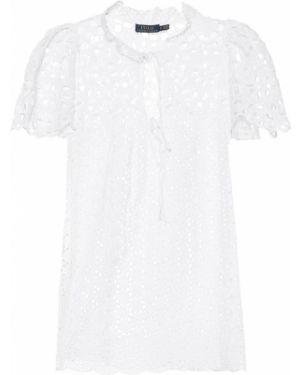 Biała koszula bawełniana koronkowa Polo Ralph Lauren