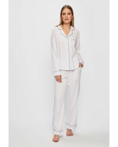 Пижама хлопковая белый Dkny
