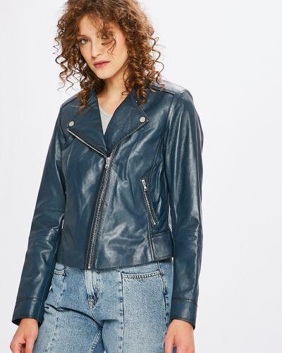 Прямая облегченная синяя куртка Ochnik