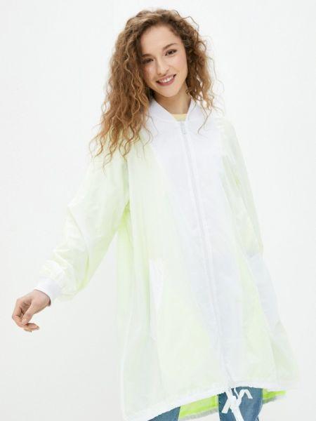 Белая облегченная куртка Sh