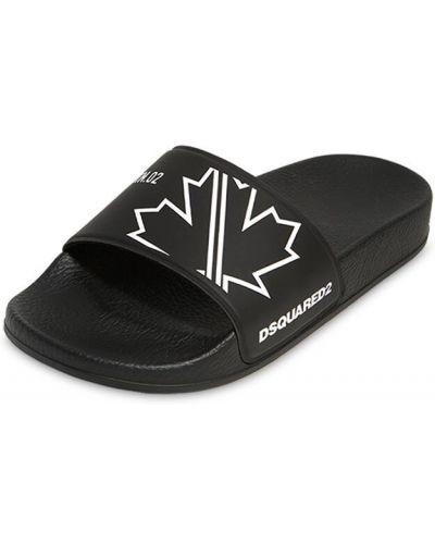 Czarny sandały Dsquared2
