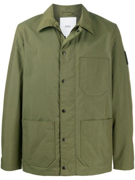 Koszula z długim rękawem klasyczna wojskowy Closed