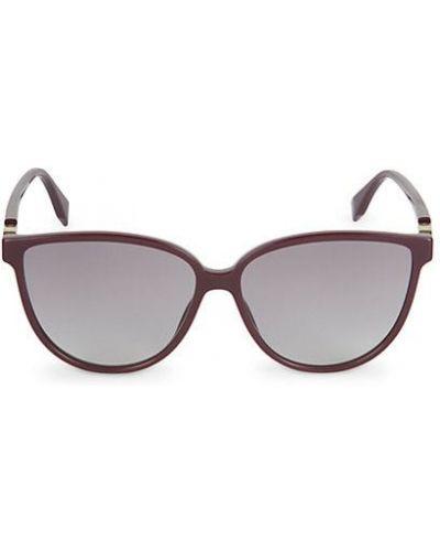 Фиолетовые солнцезащитные очки для полных Fendi