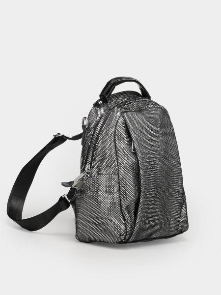 Серебряный рюкзак Braska