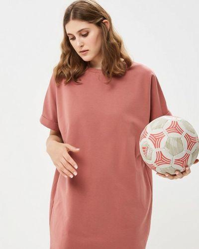 Розовое платье осеннее Befree