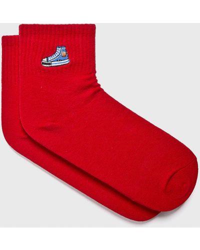 Хлопковые носки - красные Fulloff
