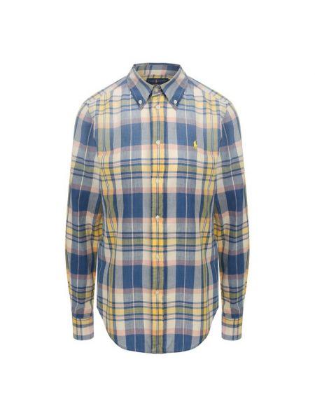 Рубашка в клетку на пуговицах Polo Ralph Lauren