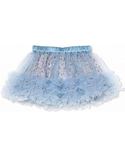 Spódnica tiulowa - niebieska Tutu Du Monde