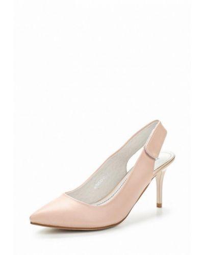 Кожаные туфли с открытой пяткой на каблуке Betsy