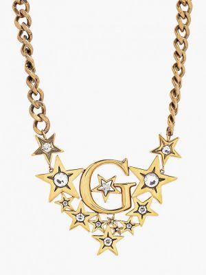 Ожерелье золотое Guess