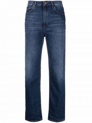 Прямые джинсы классические - синие Haikure