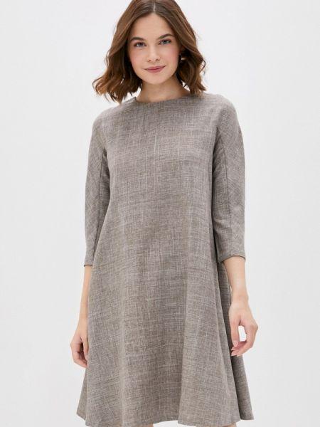 Коричневое платье Maurini
