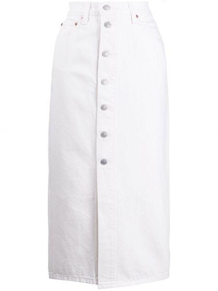 Классическая юбка миди с карманами в рубчик на пуговицах Levi's®