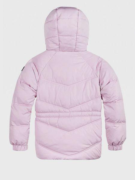 Стеганая куртка - розовая Tommy Hilfiger