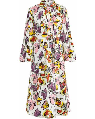 Платье миди на пуговицах с поясом Etro
