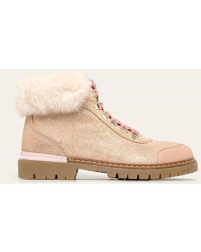 Джинсы розовый теплый Pepe Jeans