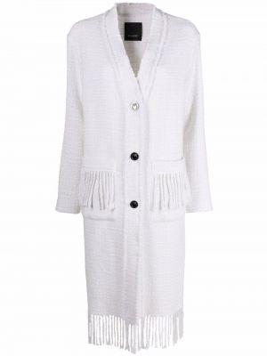 Шерстяное пальто - белое Pinko